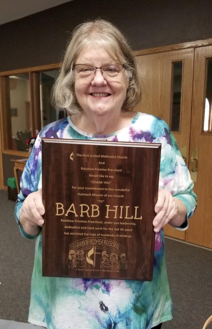 Congratulations Barb!